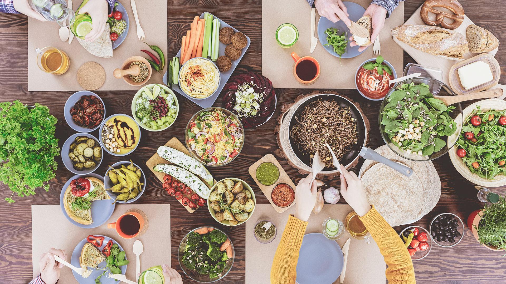 Hvordan klare å holde kostholdsplanen med familie?