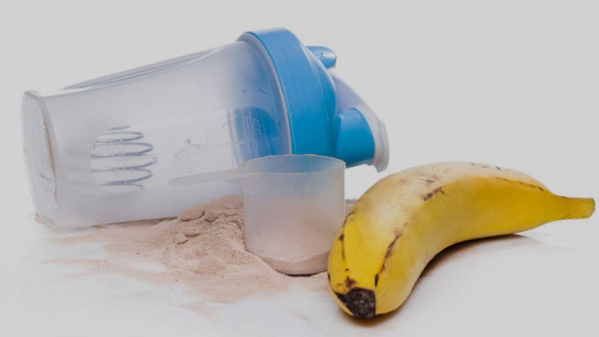 ned i vekt med proteinshake